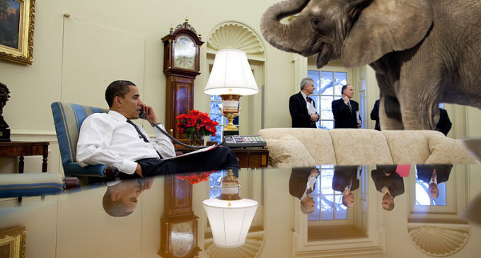 Putting the Elephant Out There: Barack Obama Soothes the Nation