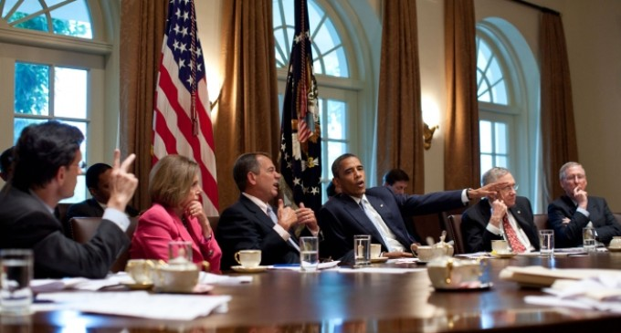 White House & Lawmakers Repeated Failure to Compromise; Hard Chairs May Be To Blame
