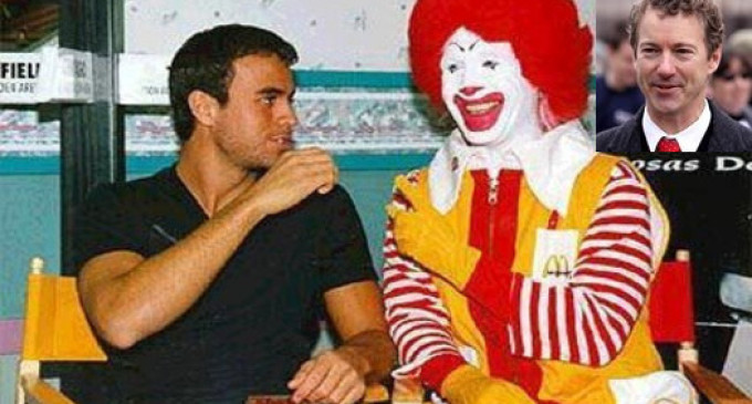 From Clown to Congress: Sen Rand Paul Admits He Used To Be Ronald McDonald