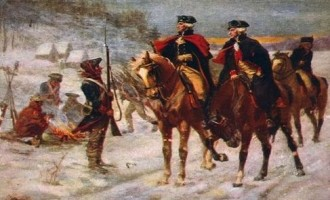 A Drone Attack on Valley Forge for Presidents Day