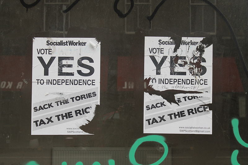 Scottish National Party: Twisting Reality? Or Twisted Logic?