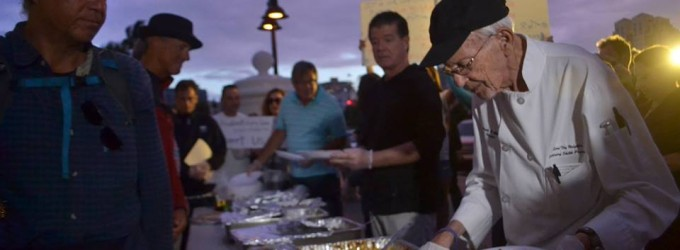Chef Arnold, An American Rebel, Feeding Florida's Homeless Despite Arrests