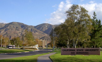 Cal State San Bernardino Using California's Last Year of Water As Quickly as Possible