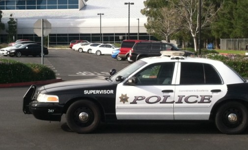 Is the San Bernardino Police Department Parking Empty Police Cars to Deter Crime?